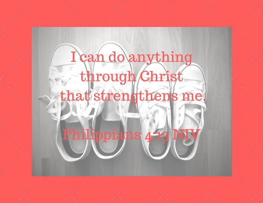 I can do anything through Christ that strengthens me.z