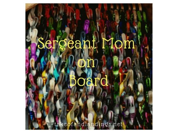 sergeant mom