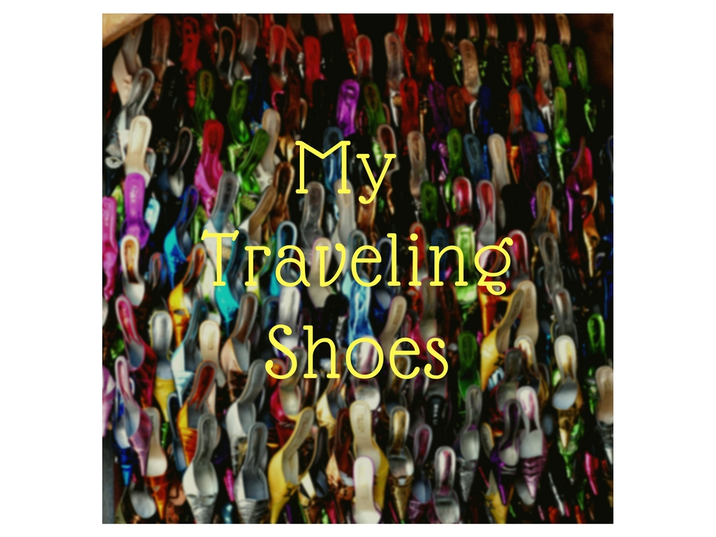 traveling shoe